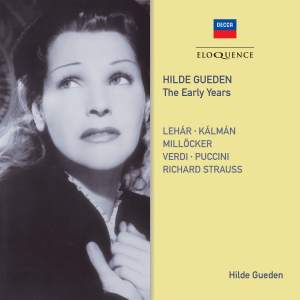 Hilde Gueden: The Early Years