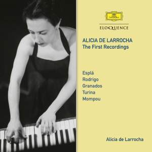 Alicia de Larrocha – The First Recordings
