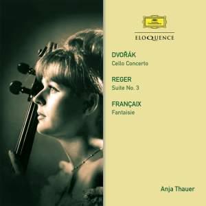 Anja Thauer plays Dvorak, Reger & Francaix