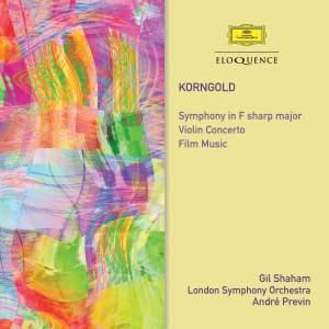 Korngold: Symphony, Violin Concerto & Film Music Product Image