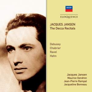 Jacques Jansen - The Decca Recitals