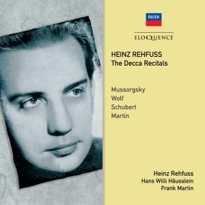 Heinz Rehfuss - The Decca Recitals