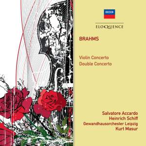 Brahms: Violin Concerto & Double Concerto Product Image