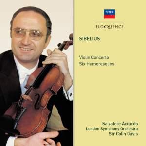 Sibelius: Violin Concerto & Six Humoresques Product Image