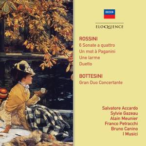 Rossini: Sonate a quattro & Bottesini: Gran Duo Concertante Product Image
