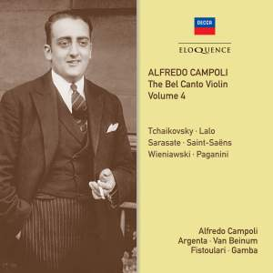 Alfredo Campoli: The Bel Canto Violin - Volume 4