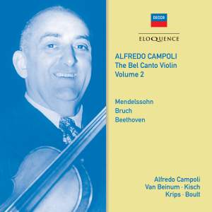 Alfredo Campoli: The Bel Canto Violin - Volume 2
