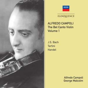 Alfredo Campoli: The Bel Canto Violin - Volume 1 Product Image