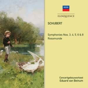 Schubert: Symphonies 3, 4, 5, 6, 8 & Rosamunde