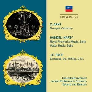 Clarke, Handel/Harty, JC Bach: Orchestral Works