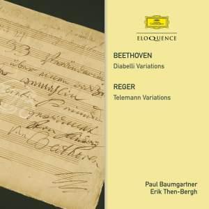 Beethoven: Diabelli Variation &. Reger: Telemann Variations