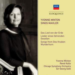 Yvonne Minton Sings Mahler Product Image