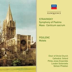 Stravinsky & Poulenc: Choral Works