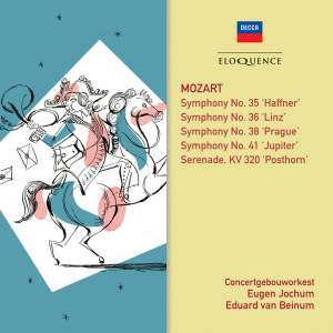 Mozart: Symphonies & Posthorn Serenade Product Image