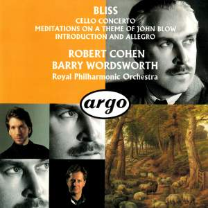 Bliss: Cello Concerto & Meditations on a Theme of John Blow