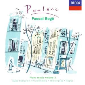 Poulenc: Piano Works Vol. 3