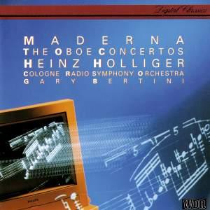 Maderna: Oboe Concertos