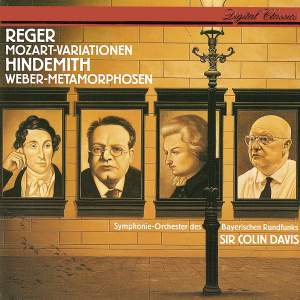Reger: Variations and Fugue & Hindemith: Symphonic Metamorphoses