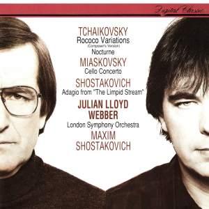 Miaskovsky, Tchaikovsky & Shostakovich: Cello Works