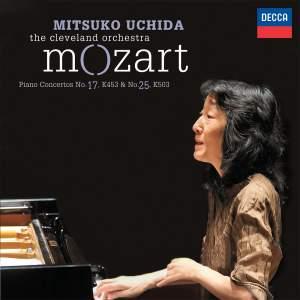 Mozart: Piano Concertos Nos. 17 & 25