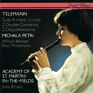 Telemann: Suite & 2 Double Concertos Product Image