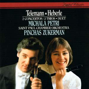 Telemann & Heberle: Two Concertos. Two Trios and Duet