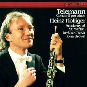 Telemann: Oboe Concertos Product Image