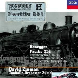 Honegger: Symphony No. 2&#x3B; Pacific 231&#x3B; Pastorale d'été&#x3B; Rugby&#x3B; Monopartita&#x3B; Mouvement symphonique No. 3