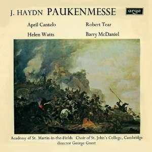 Haydn: Missa in tempore belli & M Haydn: Ave Regina