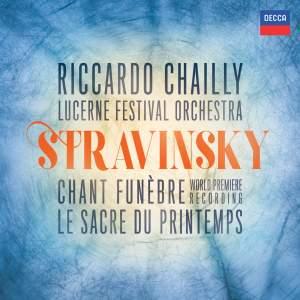 Stravinsky: Chant Funèbre & Le Sacre du printemps Product Image