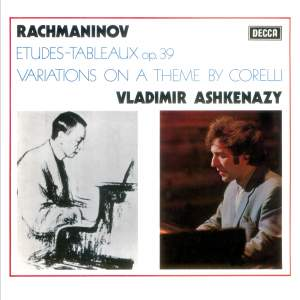 Rachmaninov: Corelli Variations&#x3B; Etudes-Tableaux, Op.39