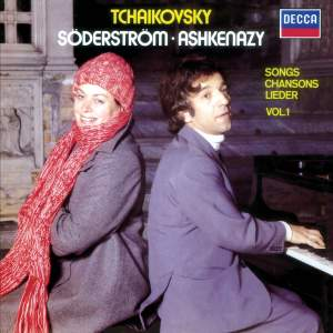 Tchaikovsky: Songs Vol.1