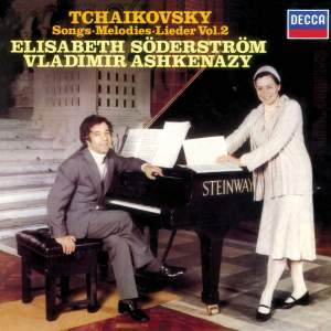 Tchaikovsky: Songs Vol.2