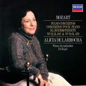 Mozart: Piano Concertos Nos. 19 & 22