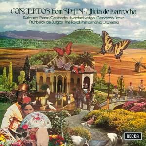 Montsalvatge: Concerto Breve / Surinach: Piano Concerto