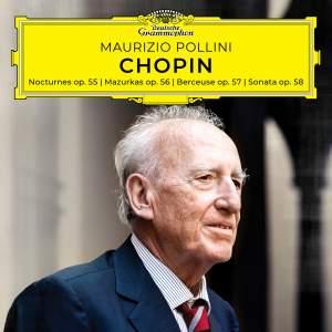 Chopin: Nocturnes, Mazurkas, Berceuse, Sonata, Opp. 55-58 Product Image