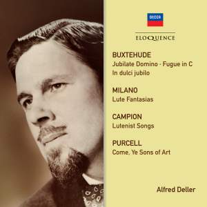 Alfred Deller - Campion, Purcell, Buxtehude