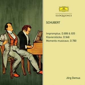 Schubert: Impromptus; Klavierstücke; Moments Musicaux Product Image