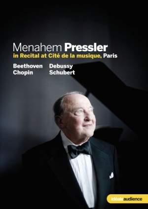 Menahem Pressler in Recital