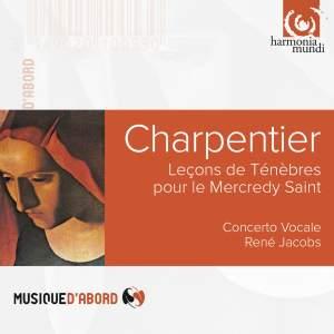 Charpentier, M-A: Lecons De Tenebres De Mercredi Saint. Product Image