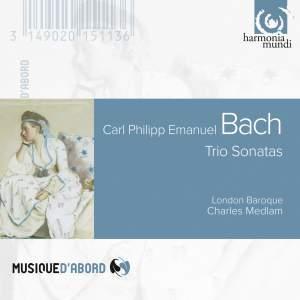 CPE Bach: Sonatas for viola da gamba and continuo Product Image
