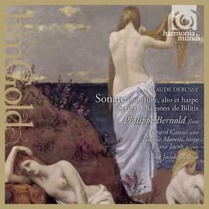 Debussy: Sonate pour flûte, alto et harpe