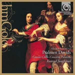Schütz: Psalms of David, SWV 22-47 (Op. 2) Product Image