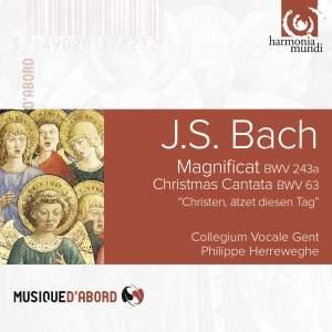 JS Bach: Magnificat & Christmas Cantata