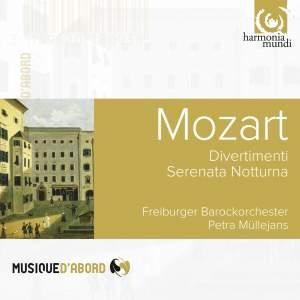Mozart: Divertimenti & Serenata Notturna