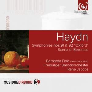 Haydn: Symphonies Nos. 91 & 92 & Scena di Berenice