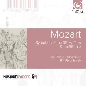 Mozart: Symphonies Nos. 35 'Haffner' & 36 'Linz'