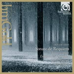 Olivier Greif: Sonate de Requiem & Trio pour piano, violon & violoncelle