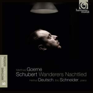 Schubert Lieder Volume 8: Wanderer's Nachtlied