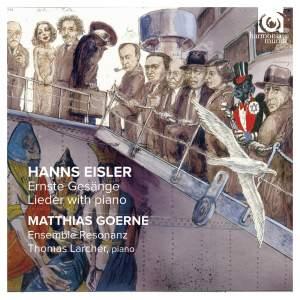 Hanns Eisler: Ernste Gesänge & Sonata Op. 1 Product Image